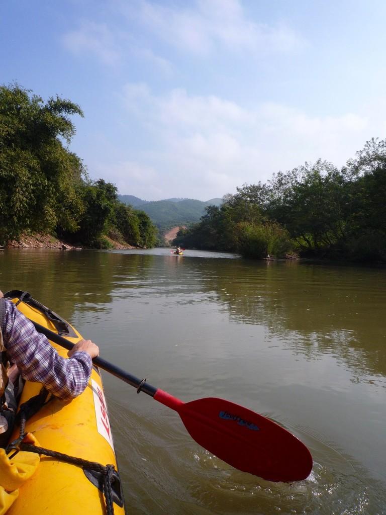 Naturschutzgebiet Nam Ha: Die sehr schöne und zum Teil rasante Tour am Rande des Urwalds ermöglicht uns tolle Einblicke in das ursprüngliche Laos.