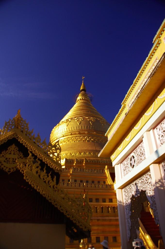 Yangon: Zum Abschluss nochmal ein Blick auf die Shwedagon Pagode